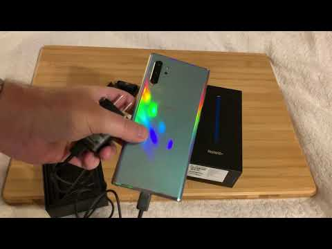 Samsung Note10+ Unboxing