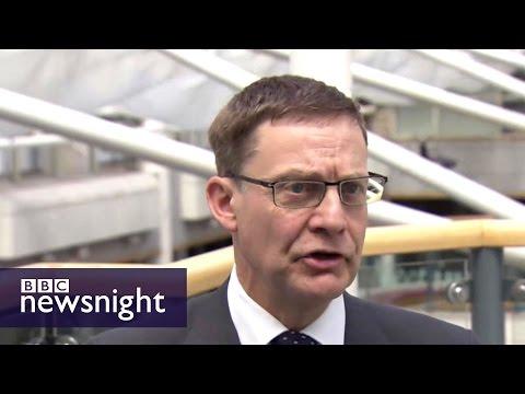 Universities take a knock post-Brexit - BBC Newsnight