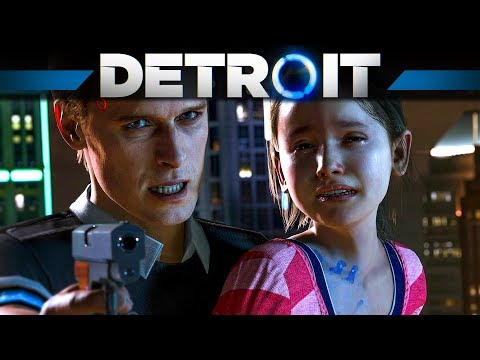 ANDROID oder MENSCH? – Let's Play DETROIT BECOME HUMAN #1 Deutsch | PS4 Pro 4K Gameplay German