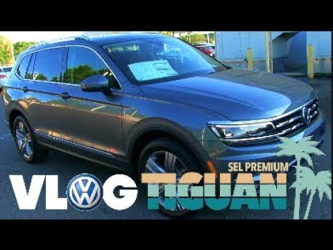 I'm ❤️ Loving the New 2018 VW Tiguan SEL Premium | OMG its AMAZING 🚙 AutoVLOG / Review 🎥