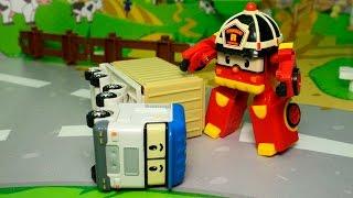 Мультики. Видео для детей Про машинки Аварийный день. Робокар Поли новые серии Мультфильмы