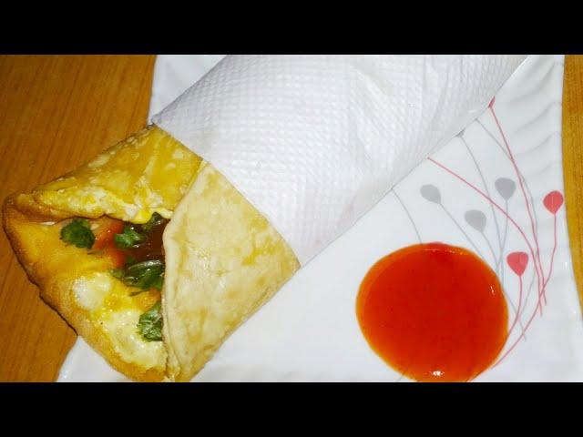 ???? ??? / Egg Roll recipe in Assamese language / Indian Street food recipe / Anda roll recipe