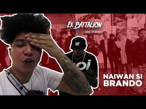 Ex Battalion - USA TOUR VLOG (NAIWAN SI BRANDO)