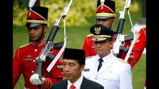 Jakarta governor sworn in amid calls from hardliners for 'Islamic lifestyle'
