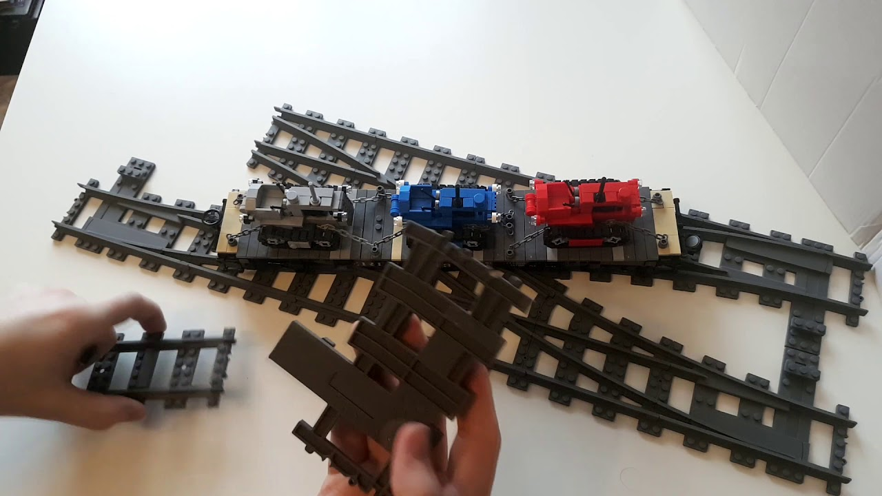 7996 4DBrix LEGO® Compatible Double Crossover