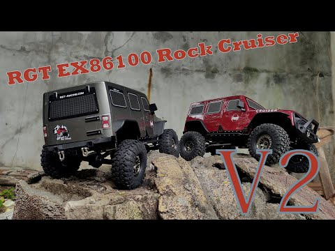 Download RGT EX86100 Rock Cruiser V2, Unboxing and first run