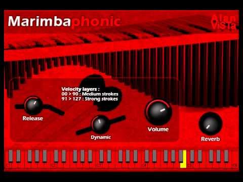 Marimbaphonic - Free VST Marimba