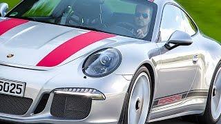 Porsche 911 R Engine Start Acceleration 0 - 100 MPH Driving Engine Sound Video CARJAM TV HD