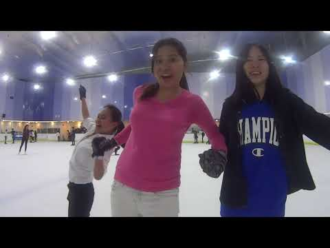 Ice Skating for Asian lol! (ft Nico and Evonne)