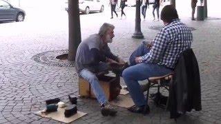 Португалия.  Центральная площадь Порто. Praca da Liberdade - Площадь свободы.