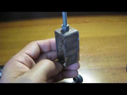 Самодельный инструмент удаления вмятин кузова.
