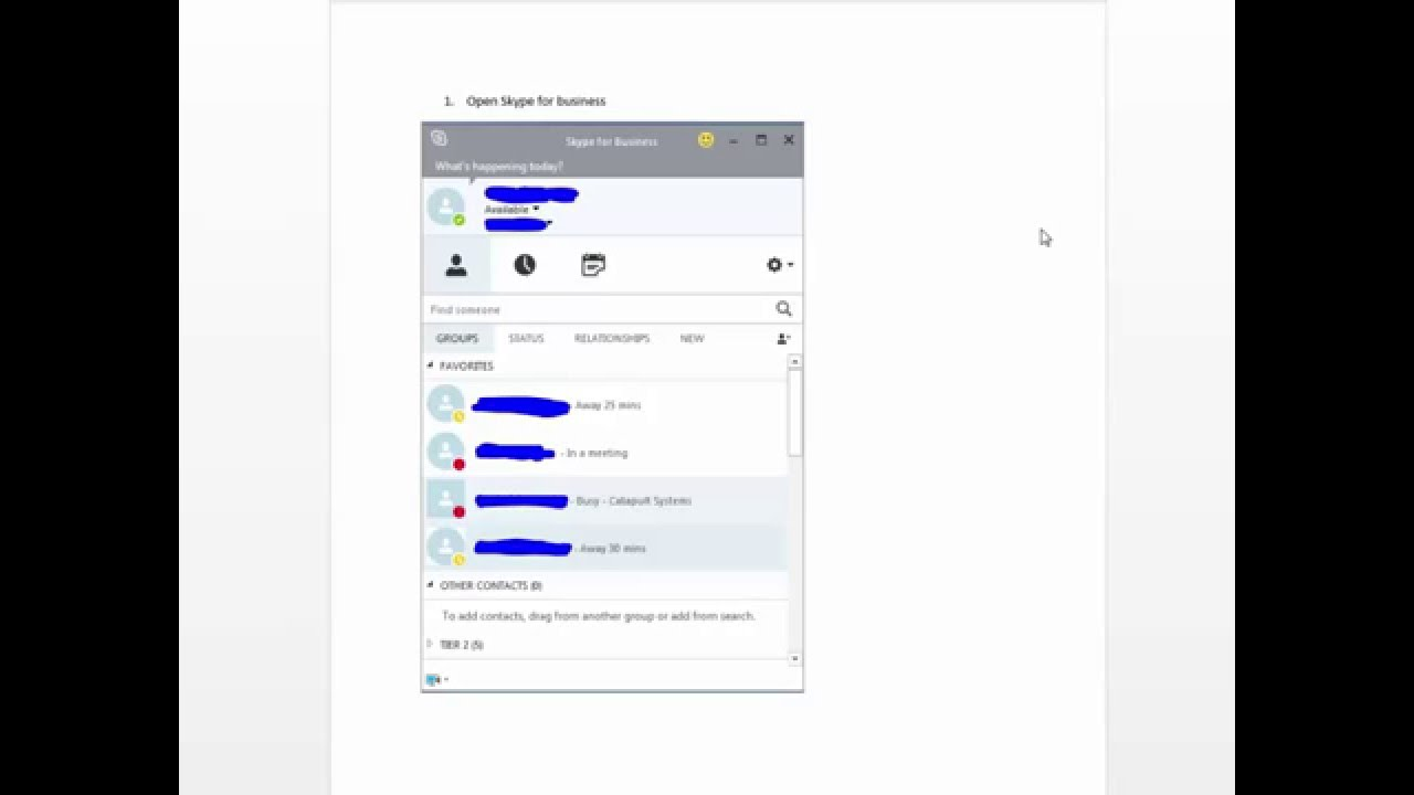 Inviting External Contacts With Skype for Business