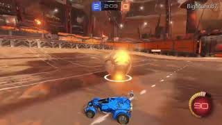 My very first rocket league replay. (CRINGE WARNING)