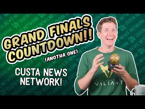 Grand Finals Countdown!! - Custa News Network