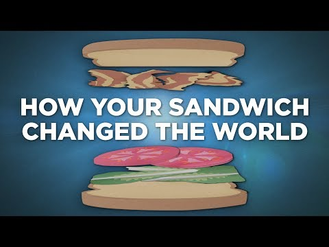 The Carbon Footprint Of ... One Sandwich | NPR