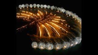 Dubai fireworks 2014 @atlantis Palm Jumeirah