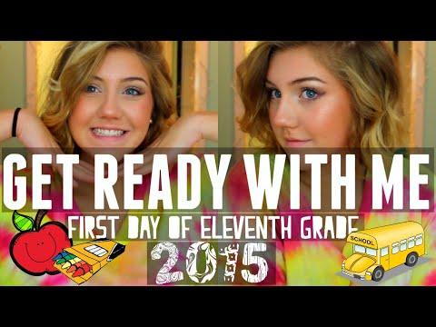 GRWM: FIRST DAY OF SCHOOL (11TH GRADE) Katie Lynn
