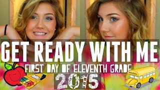 GRWM: FIRST DAY OF SCHOOL (ELEVENTH GRADE) Katie Lynn