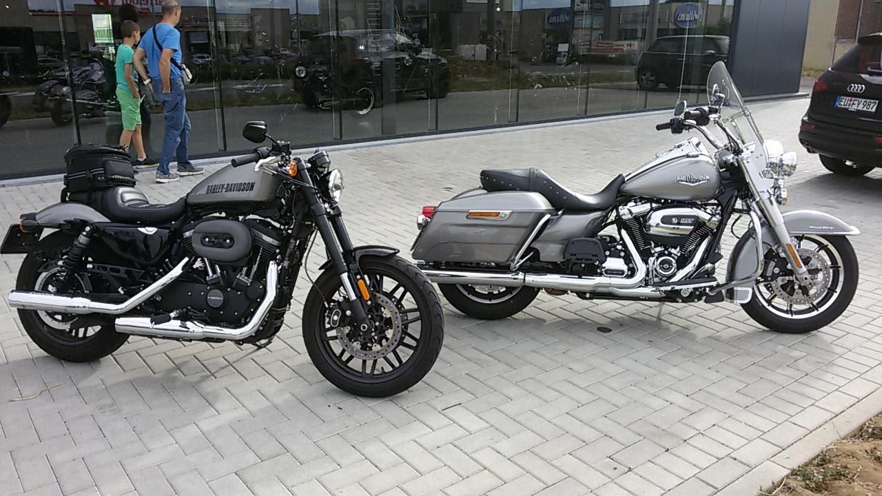 To Handlebar Harley Davidson Roadster 2017 Vs Road King 107