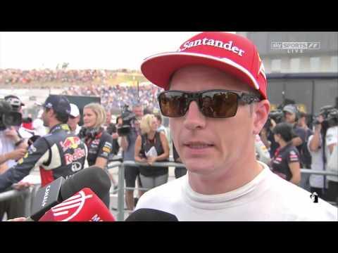 2015 Hungary - Post-Qualifying: Kimi Raikkonen