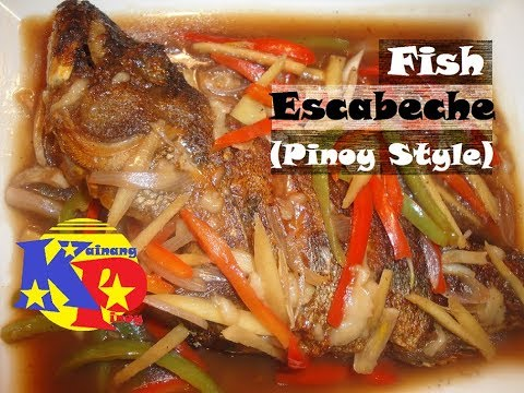 Pinoy recipe escabeche most delicious fish recipe i for Fish escabeche recipe