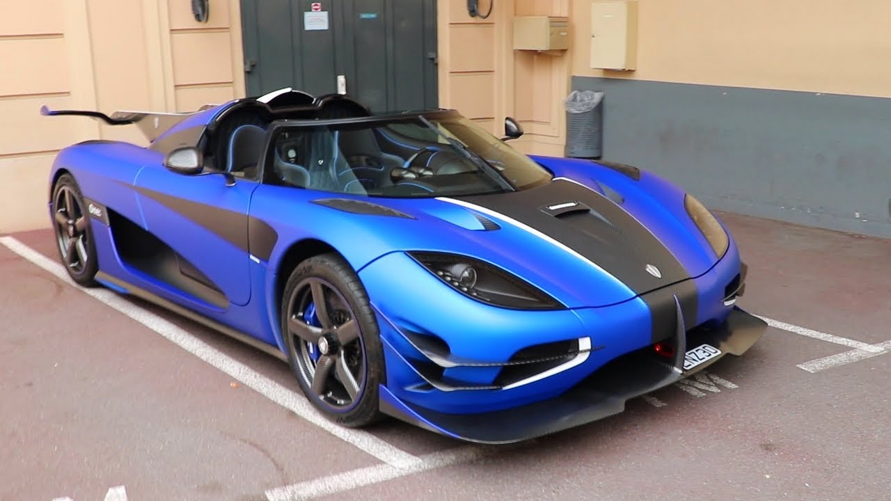 5 million koenigsegg one 1 in blue mat sound youtube. Black Bedroom Furniture Sets. Home Design Ideas