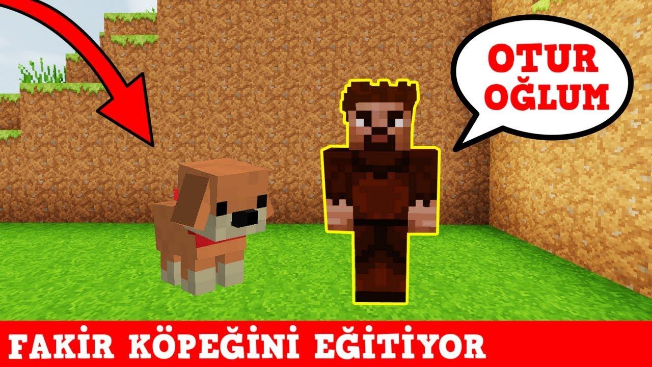ZENGİN VS FAKİR #141 - Fakir Köpeğini Eğitiyor (Minecraft)