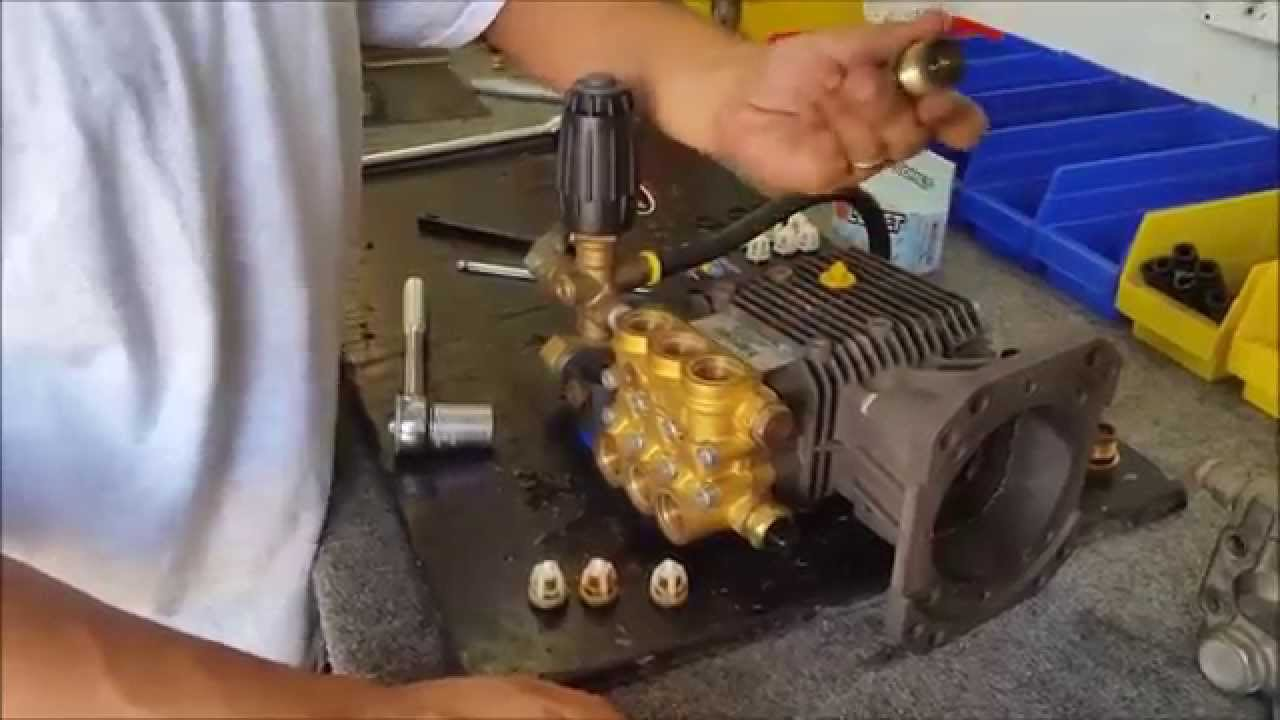 How To Pressure Cleaner Valve Repair Youtube