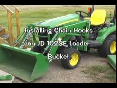 loader bucket hook