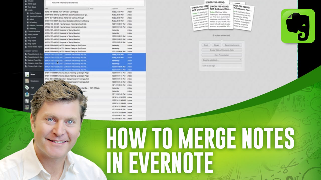 how to add notes in evernote