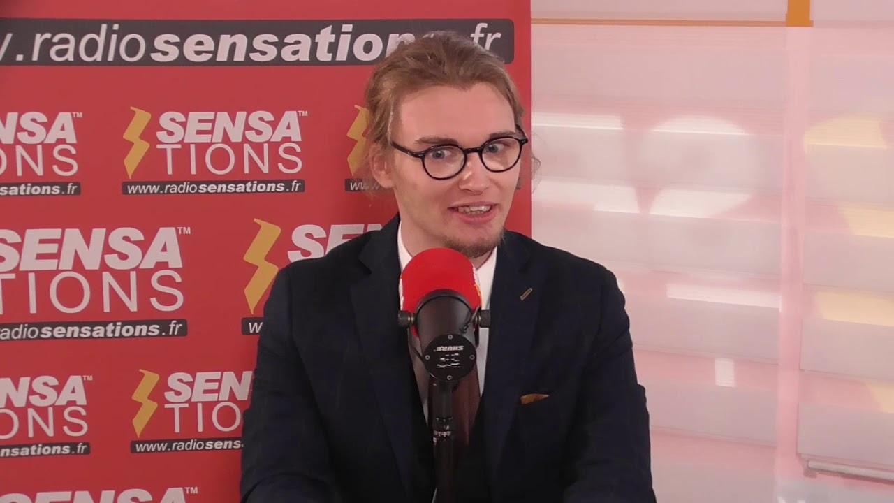 Jérémy Pahu parle de L'Ombre Noire sur Radio Sensations