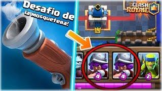 ¡¡ JUEGO CON 2 MOSQUETERAS EN MI MAZO EN EL NUEVO DESAFIO !! - Clash Royale [WithZack] thumbnail