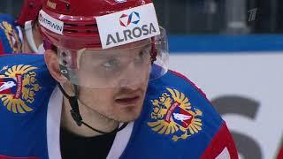 Сборная России — Сборная Швеции. Лучшие моменты в слоу-моу.
