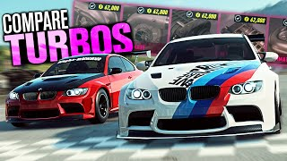 Need for Speed HEAT - TURBOS vs Superchargers Compared (Speed, Sound & Acceleration)