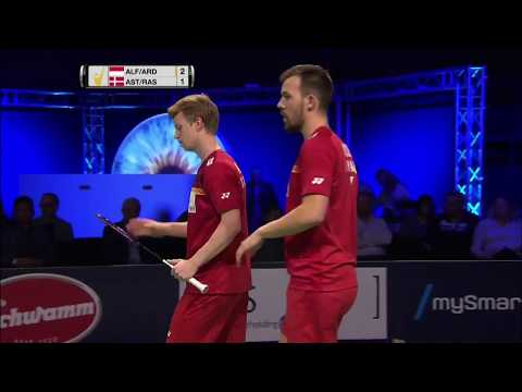 Bitburger Badminton Open 2017 | F M5-MD | Alf/Ard vs Ast/Ras