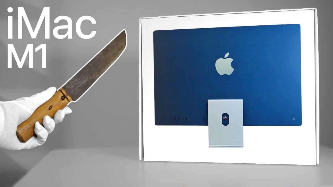 Apple M1 iMac Unboxing (2021) + Gameplay