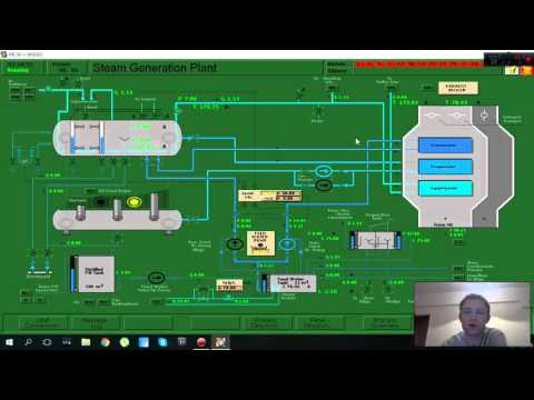 How to change over from Diesel oil to Heavy fuel oil Main boiler plant lesson 5