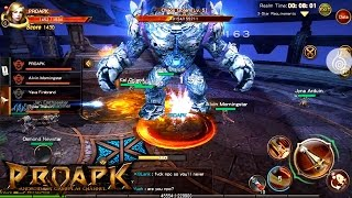 DRAGON REVOLT English Gameplay Android / iOS (Open World MMORPG)