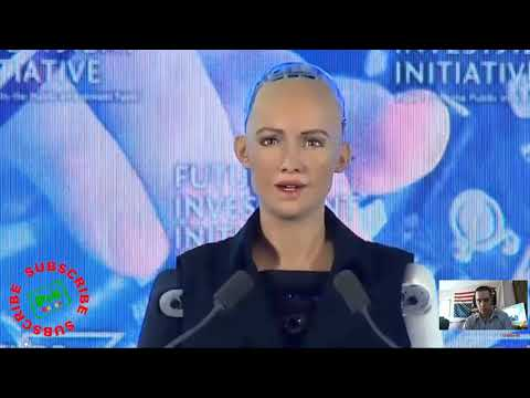 CREEPY! ROBOT HUMANOID MADE CITIZEN IN COUNTRY MOCKING HUMAN PROGRAMMING MUST SEE!