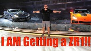 Which Corvette ZR1 do I get? |🔴Live from LA Auto Show