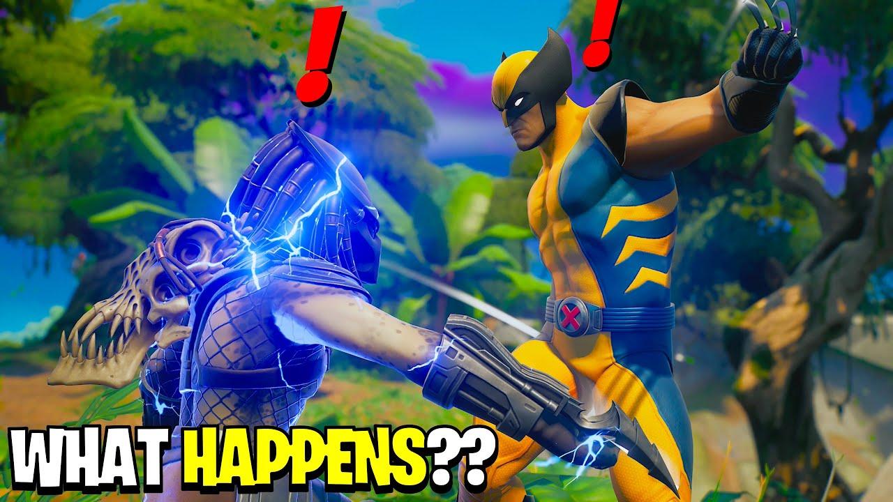 Download What Happens if Boss Predator Meets Wolverine in Fortnite Season 5?! | Challenge!