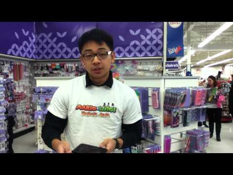 3DS XL    Nintendo 3DS XL Comparison Toys' R ' Us   Mario and Luigi Paper Jam