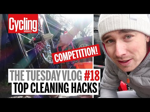 Top Bike Cleaning Hacks, NEW Bike Upgrades & COMPETITION | The Tuesday Vlog | Cycling Weekly