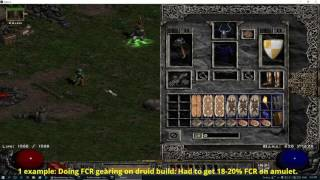 Diablo 2: What will always bug me in the game.