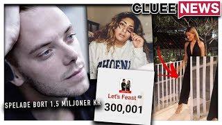 CARL DEMAN SPELADE BORT 1,5 MILJON #Clueenews BIANCA INGROSSO FEJKAR INSTABILDER thumbnail