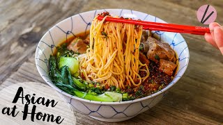 The BEST Pork Rib Noodle Soup