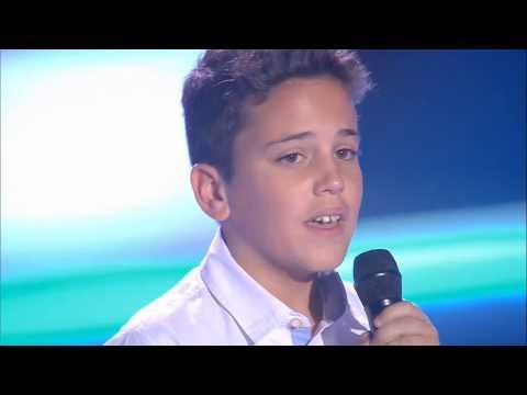 """Carlos: """"Y Ahora"""" - Audiciones a Ciegas - La Voz Kids 2017"""