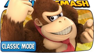 DONKEY KONG Classic Mode 9.9 (Hardest Intensity & No Deaths) | Super Smash Bros Ultimate