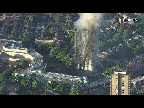 Incendiu devastator la Londra: Șase morți și 74 de răniți, dintre care 20 în stare critică