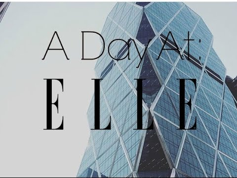 A Day At Elle Magazine| Murphy Beltowski
